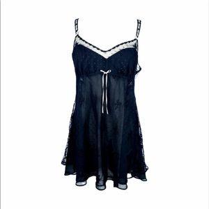 FLORA lace chemise | XL